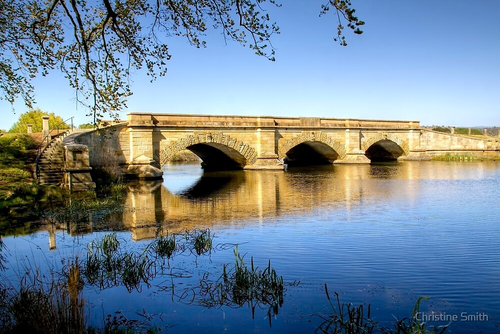 Ross Bridge, Tasmania by Christine Smith