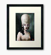 jap princess Framed Print