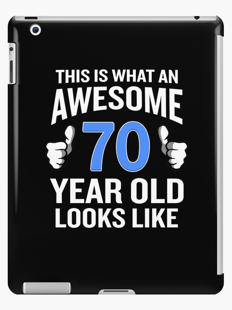70 Year Old Birthday Funny Senior Man Or Woman Gift By SpecialtyGifts