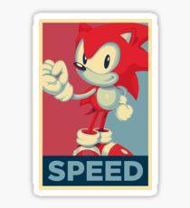 [V1] Sonic (Sonic Mania) Hope Poster-Style Sticker