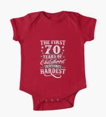 Classic Vintage Retro 70th Birthday 70 Year Old Gift Kids Clothes