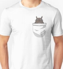 Creepy Pocket Totoro T-Shirt