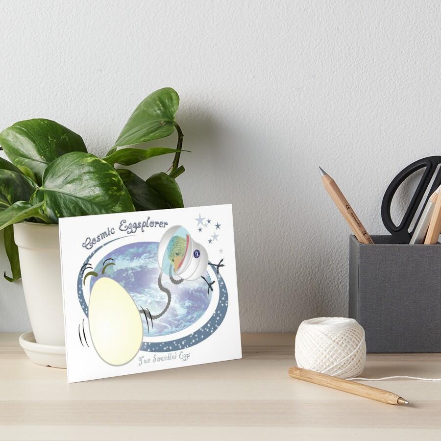 Cosmic EGGsplorer Art Board Print