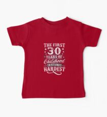 Classic Vintage Retro 30th Birthday 30 Year Old Gift Kids Clothes
