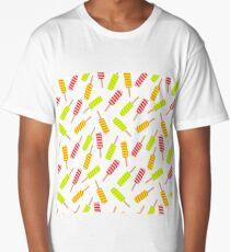 Ice cream pattern Long T-Shirt