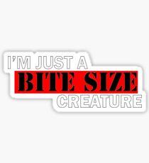 Bite size creature Sticker