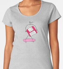 Mars in the 80s Women's Premium T-Shirt
