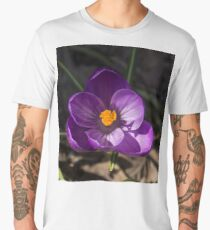 The First Crocus Celebrating Spring Men's Premium T-Shirt