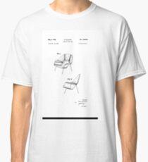 Eero Saarinen - Womb Chair - Patent Artwork Classic T-Shirt