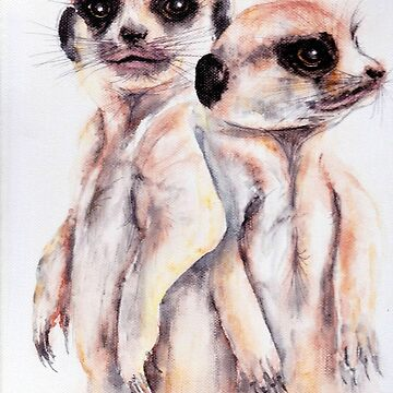 "232. ""Penny and Pauline"" by M.Viljoen by mviljoenart"