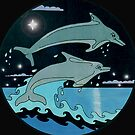 Dolphin`Leap for the Stars II'  by sharpie