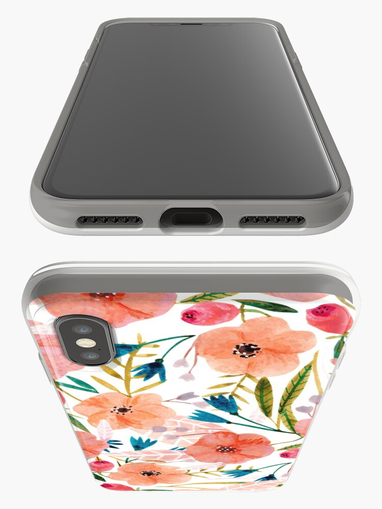 Alternate view of Floral Dance iPhone Cases & Covers