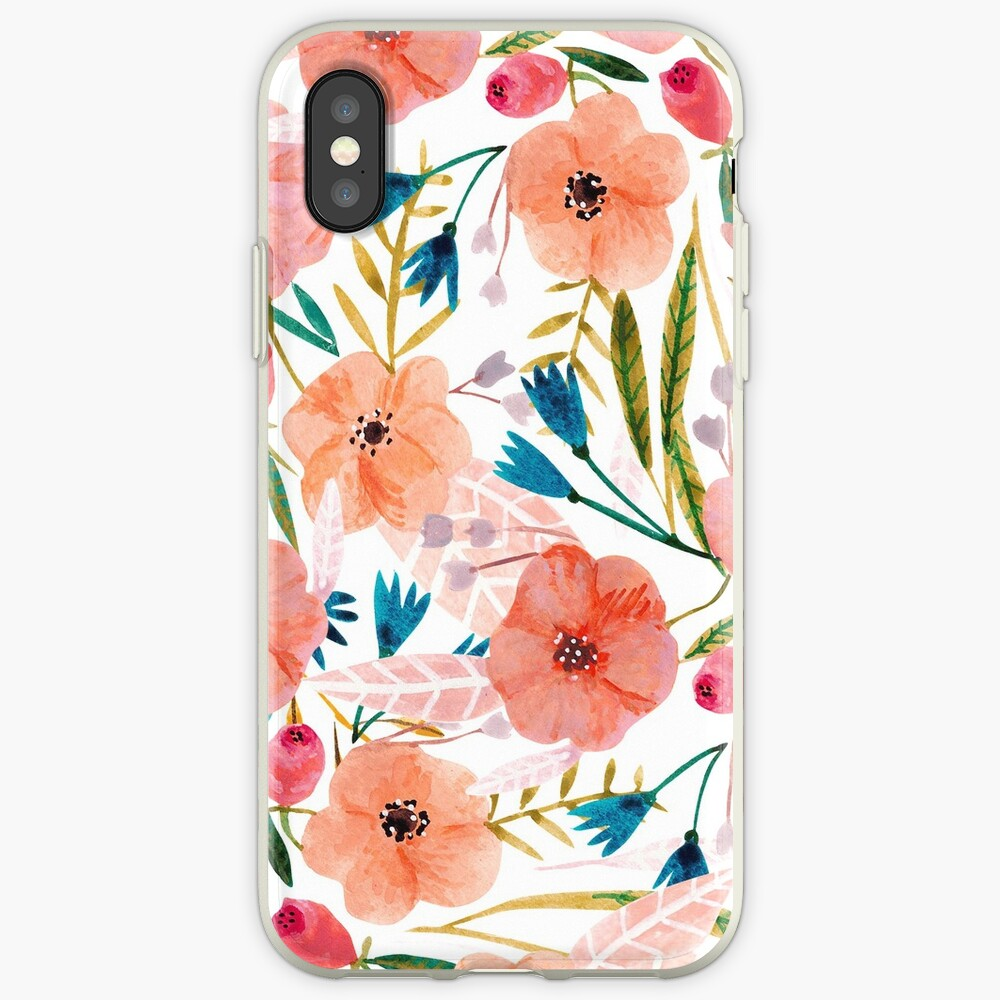Floral Dance iPhone Cases & Covers
