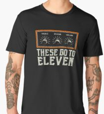 these go to eleven Men's Premium T-Shirt