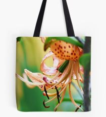 orange macro Tote Bag