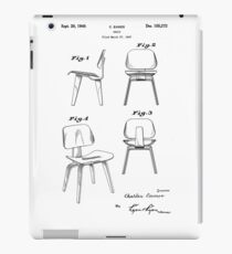 Blueprint furniture ipad cases skins redbubble charles eames molded plywood lounge chair patent artwork ipad caseskin malvernweather Choice Image