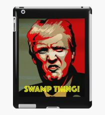 SWAMP THING! iPad Case/Skin