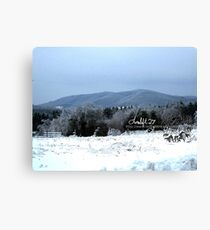 mountain of ice 3 Canvas Print