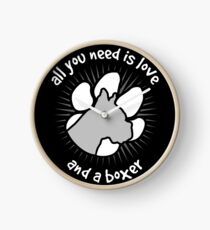 All you need is love and a BOXER - Black Clock