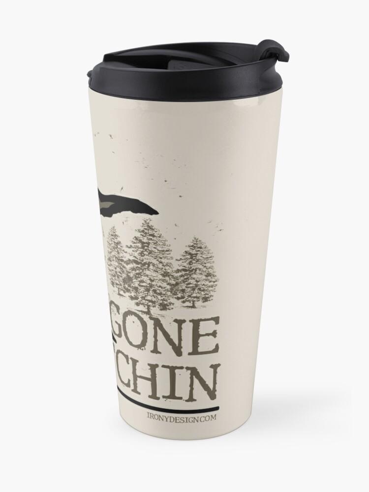 Alternate view of Gone Squatchin Travel Mug