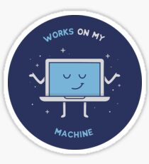 Works on my Machine - Programming Sticker