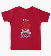 Funny 50th Birthday Gag Gift Funny 50 Year Old Kids Clothes