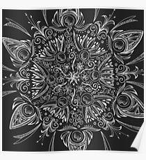 Mandala - Swirls & Seeds Poster