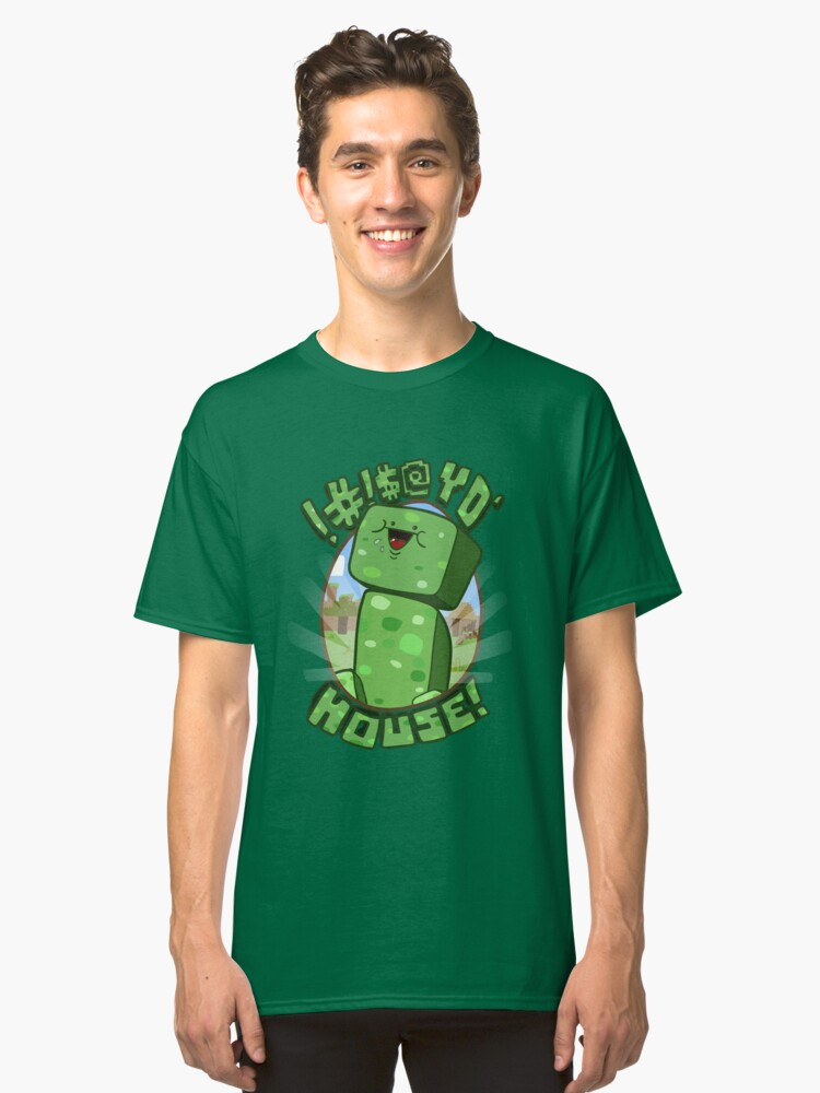Alternate view of !#!$@ Yo' House! (Censored) Classic T-Shirt