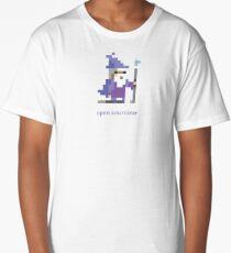 8-bit Open Source Sorcerer - Programming Long T-Shirt
