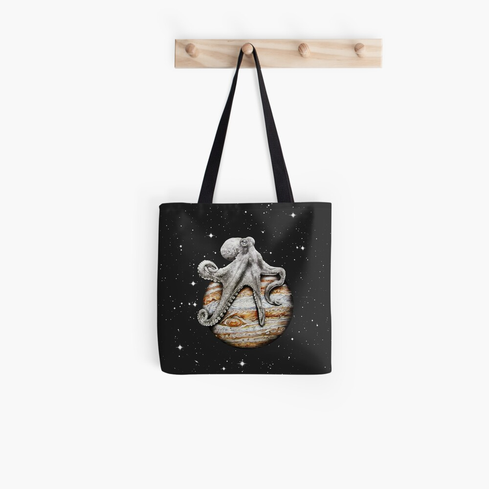 Himmlischer Cephalopod Tote Bag