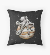 Himmlischer Cephalopod Dekokissen
