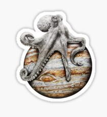 Celestial Cephalopod Sticker