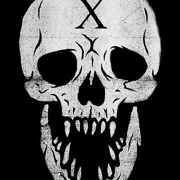 X Skull by maxdgrfx