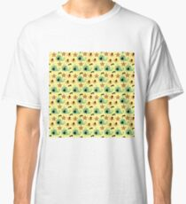 yellow sea whales Classic T-Shirt