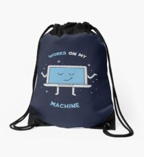 Works on my Machine - Programming Drawstring Bag