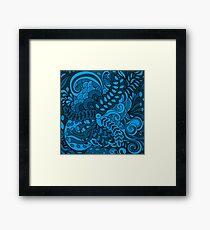 Abstract hallucination Framed Print