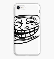 Troll Face - The Original (Outline) iPhone Case/Skin