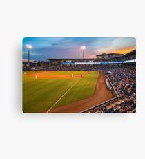 Tulsa Drillers Stadium Sunset - Oneok Stadium Tulsa Oklahoma Canvas Print