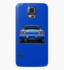 R34 GT-R Hülle & Klebefolie für Samsung Galaxy