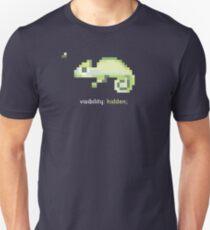 CSS 8-bit Chameleon - Programming Unisex T-Shirt