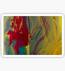 Inky Abstract Photography Sticker