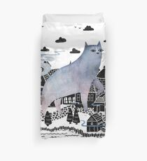 The Fog Duvet Cover