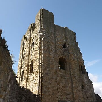scarborough castle by amylw1