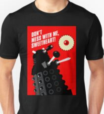 Dalek - the Doctor employs a jammie dodger T-Shirt