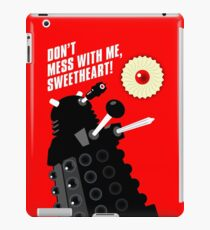 Dalek - the Doctor employs a jammie dodger iPad Case/Skin