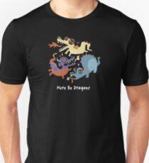 Here be Dragons - Programming Unisex T-Shirt