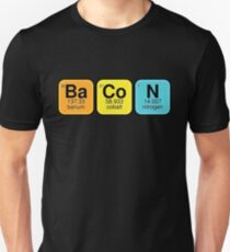 Bacon - Atomic Symbol for Hunger T-Shirt