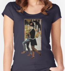Sunday In The Park With George  Women's Fitted Scoop T-Shirt