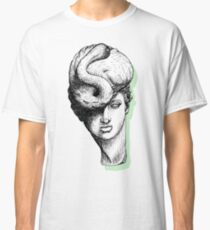 Hybrid Pastel Flamingo Green Classic T-Shirt