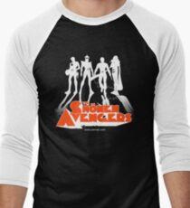 THE CLOCKWORK AVENGERS WHITE (ZeMiaL) T-shirt baseball manches ¾